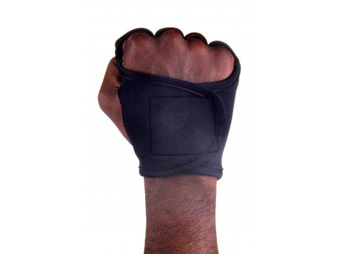 Pánské fitness rukavice - Black Lava