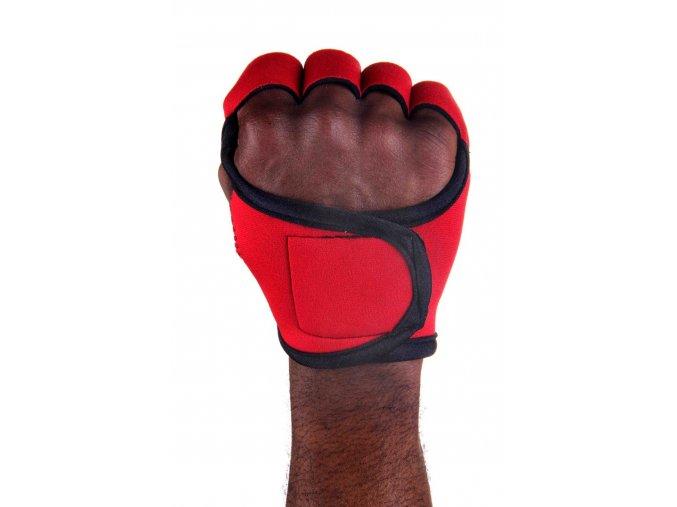 Pánské fitness rukavice - Red