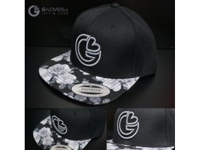 Snapback Exclusive G-loves - BlackRose - šedá