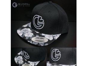 Snapback Exclusive G-loves - BlackRose - šedá
