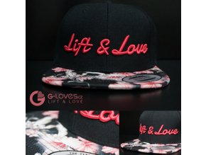 Snapback Exclusive Lift & Love - PinkRose - Růžová