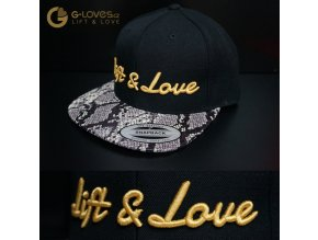 Snapback Exclusive Lift & Love - Snake - Zlatá
