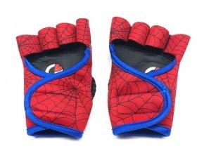 Dámské fitness rukavice - SpiderMan - limitovaná edice
