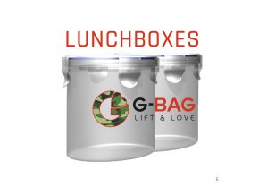 G-BAG Lunchbox 2ks