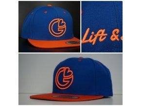 Snapback Classic G-loves - Modro - oranžová