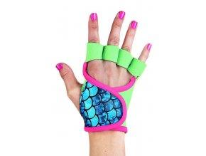 Dámské fitness rukavice - Caribbean Wave