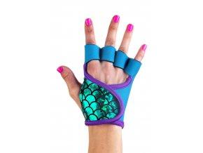 Dámské fitness rukavice - Emerald Wave