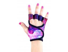 Dámské fitness rukavice - Galaxy