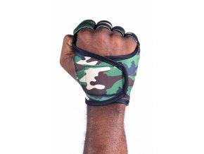 Pánské fitness rukavice - Army Camo Camouflage