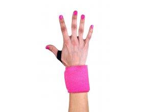 Zápěstní stahovačky - Hot Pink w