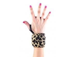 Zápěstní stahovačky - Leopard w