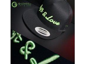 Snapback Trucker Lift & Love - Černo-zelená