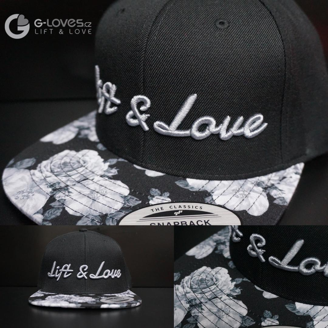 Snapback Exclusive Lift & Love - BlackRose - šedá