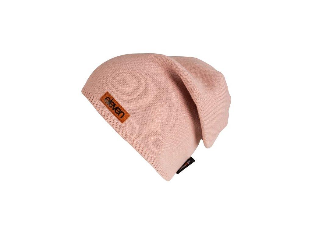 pletena cepice eleven l pink