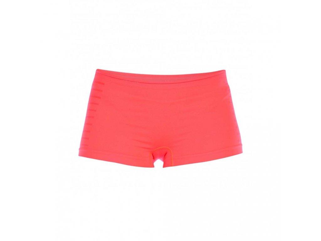 Bezešvé nohavičkové kalhotky PureLime Neonově oranžové (Barva Oranžová, Velikost S/M)