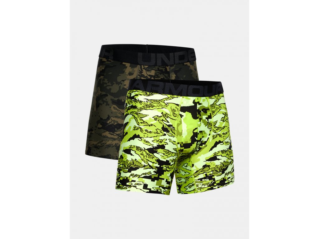 boxerske trenyrky under armour under armour ua tech 6in novelty 2 pack camo