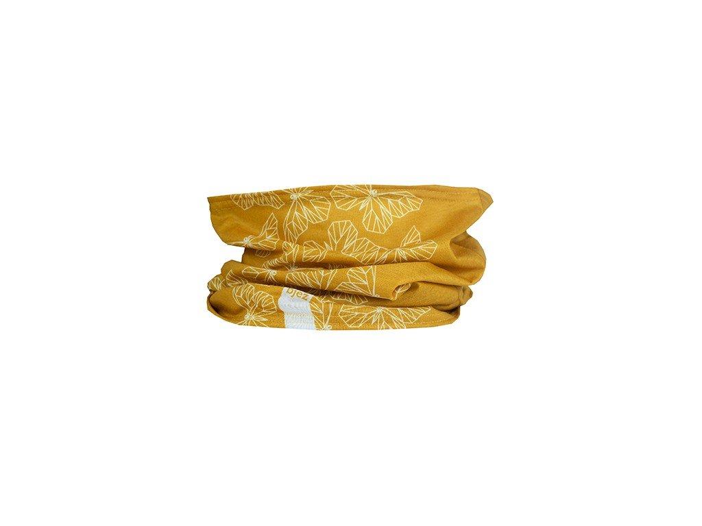 bjez scarf butterfly gold2