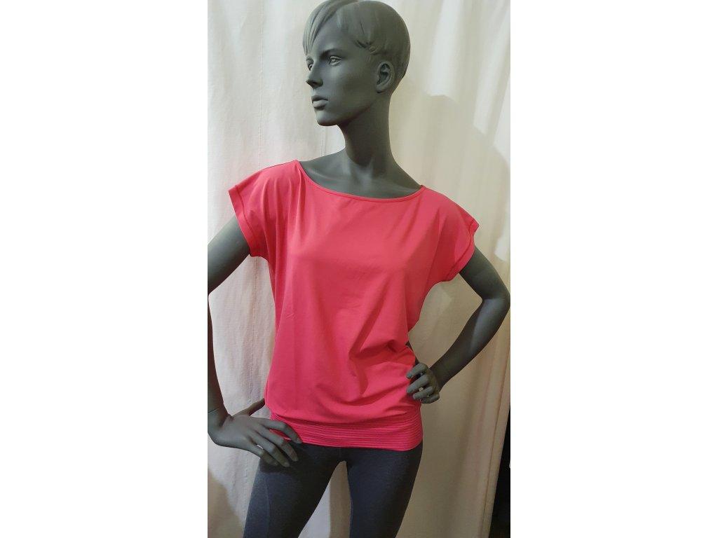Tričko Trexa malinové, Venice Beach (Barva Růžová, Velikost L)