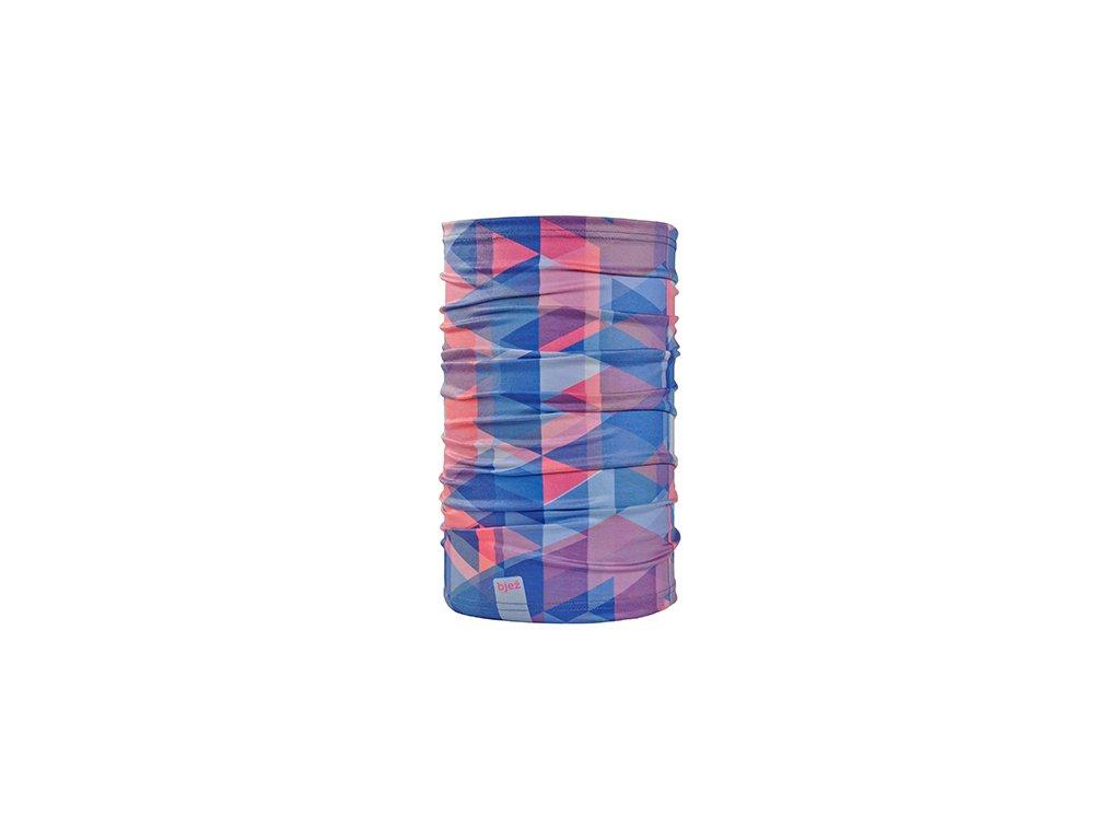 bjez scarf geo rosy