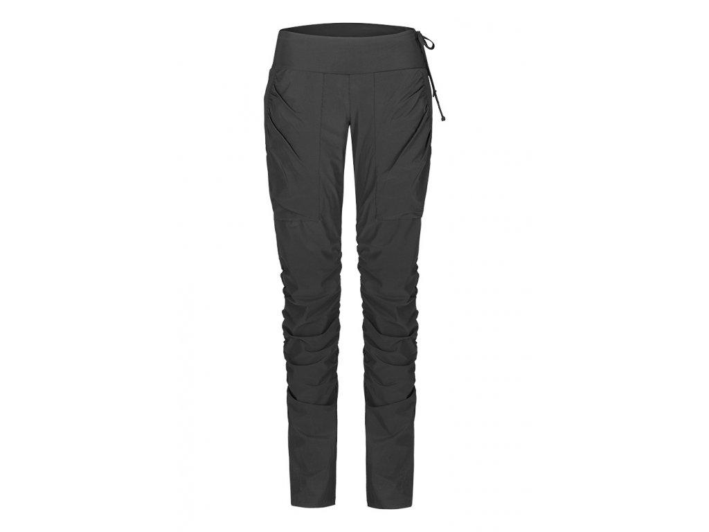 Dámské funkční elastické sportovní kalhoty černé EK923 (Barva Černá, Velikost L)