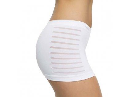 Bezešvé nohavičkové kalhotky PureLime bílé (Barva Bílá, Velikost S/M)