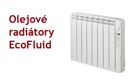 1. Olejové radiátory EcoFluid Gabarrón