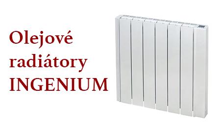 Olejové radiátory INGENIUM