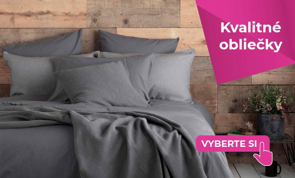 Kvalitné a elegantné posteľné obliečky