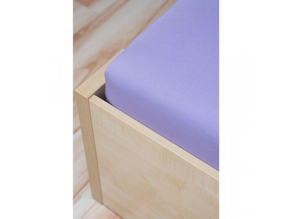 napinacia postelna plachta superstretch fialova 430