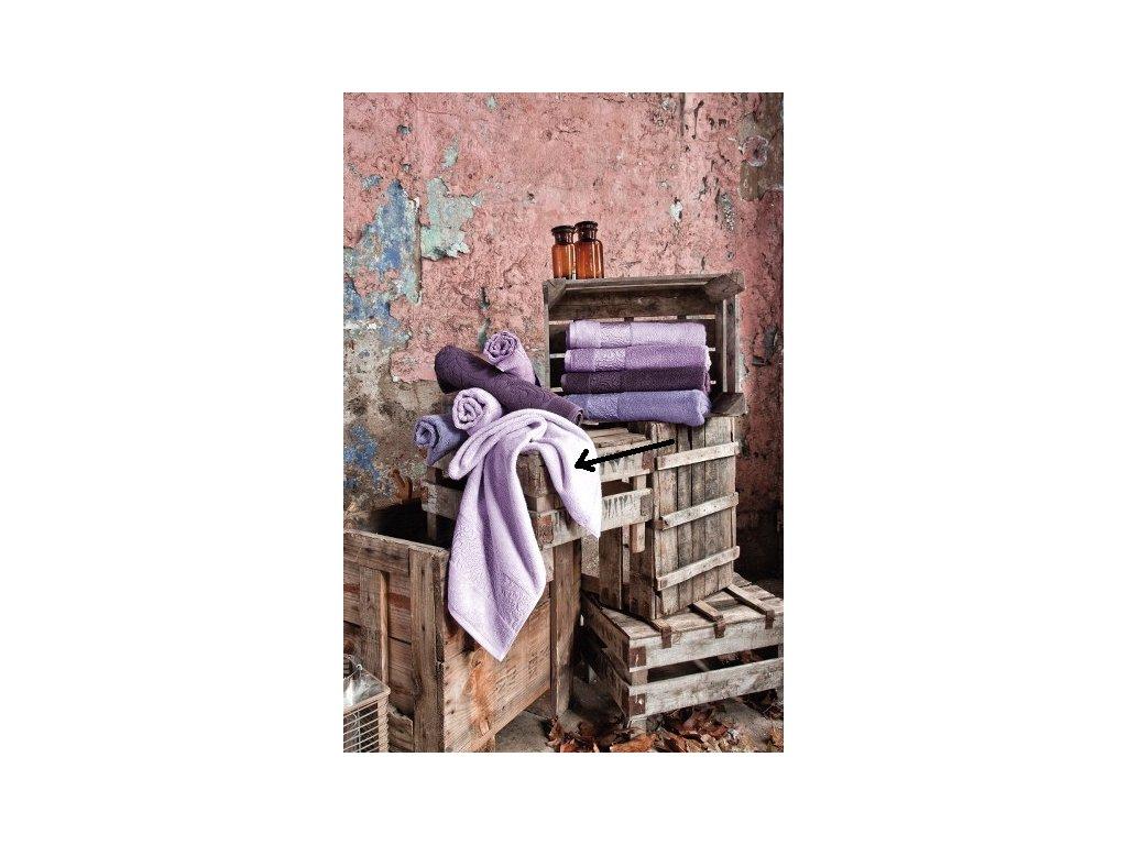 Bambusový uterák - Valencia lila - 50x90cm
