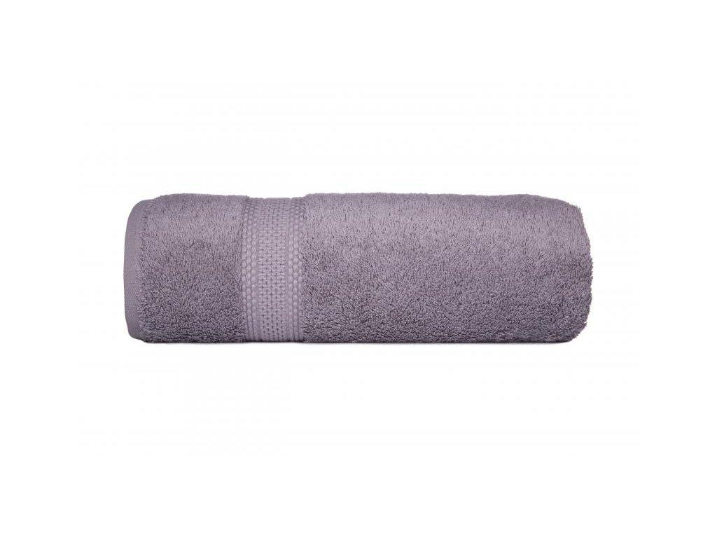Luxusný tmavosivý uterák Egyptian Cotton - 50x90cm