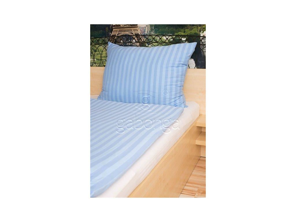 Svetlo-modré jednofarebné obliečky z viskózy AMIDO-EXQUISIT