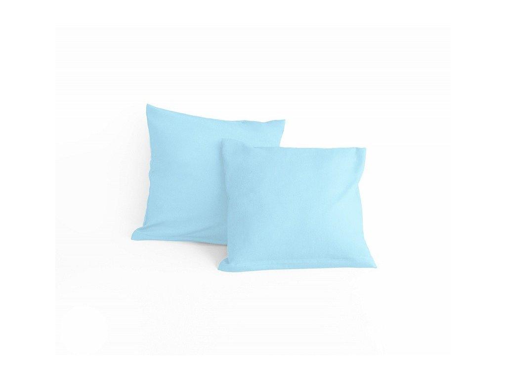 Modrá obliečka na malý vankúšik - 40x40cm + zips
