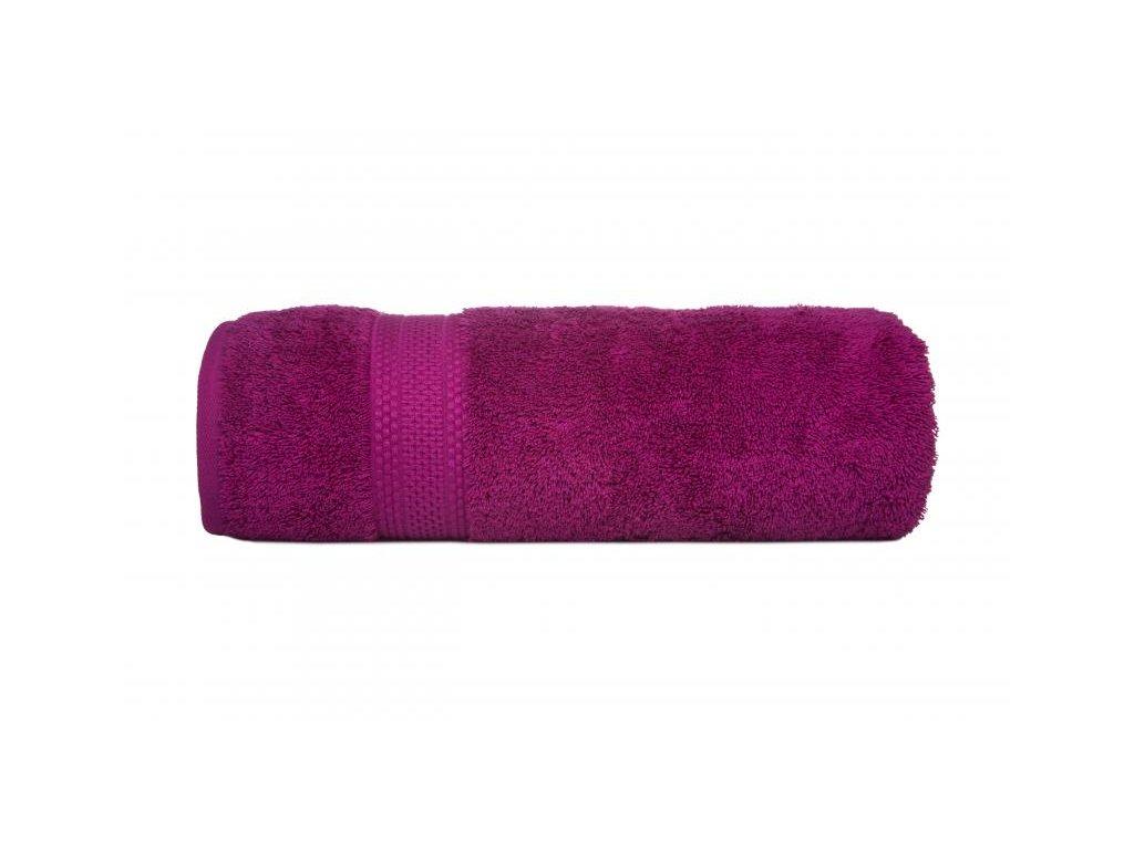 Fuksiová osuška Egyptian Cotton - 70x140cm