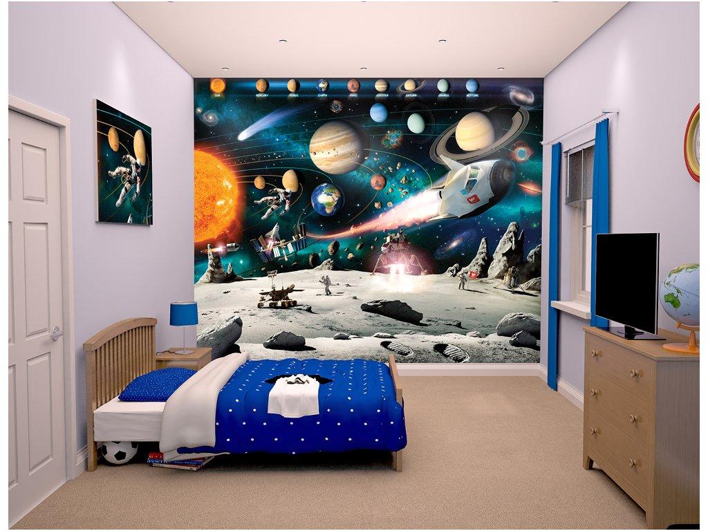 3D Tapeta Space Adventure