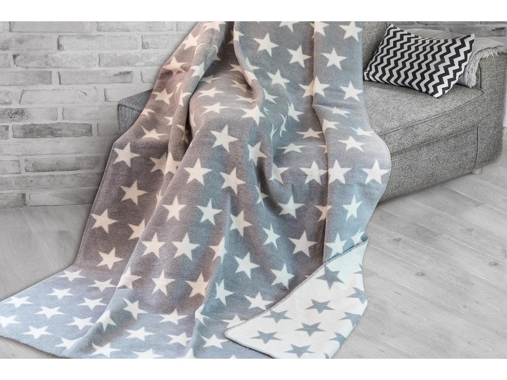Hviezdičková hrejivá deka Stars - 150x200cm