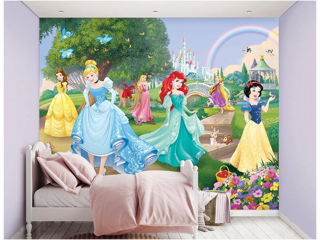 3D tapeta na stenu Princess - 244x305cm
