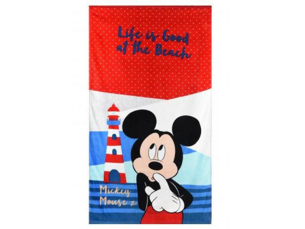 Detská osuška Mickey beach 70x140cm