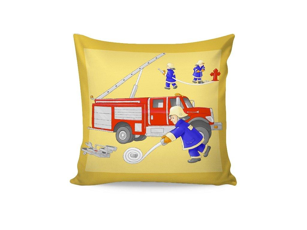 Obliečka na vankúšik Požiarnici - 40x40cm