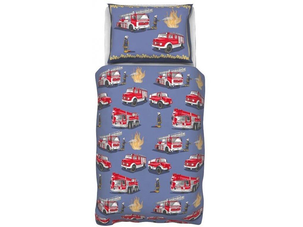 Detské obliečky Požiarnici