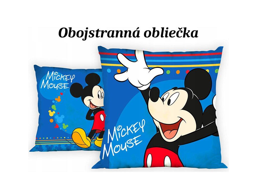 Obliečka na vankúšik Mickey - 40x40cm
