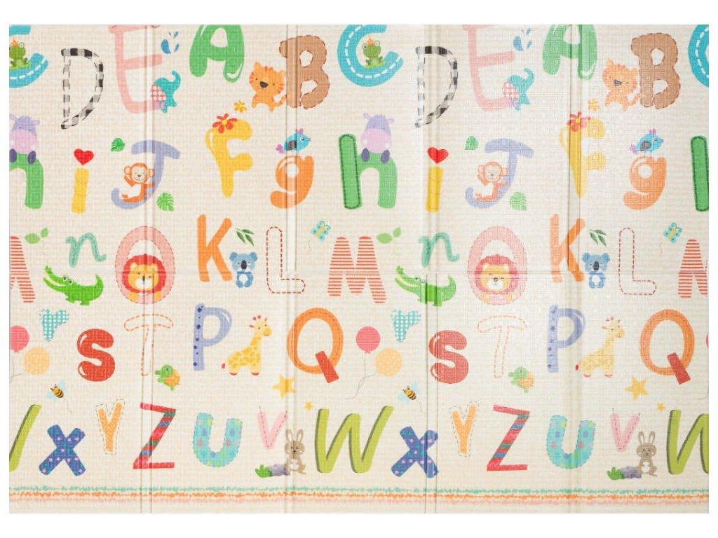 Kempingová podložka pre deti ZOO - 140x200x1cm