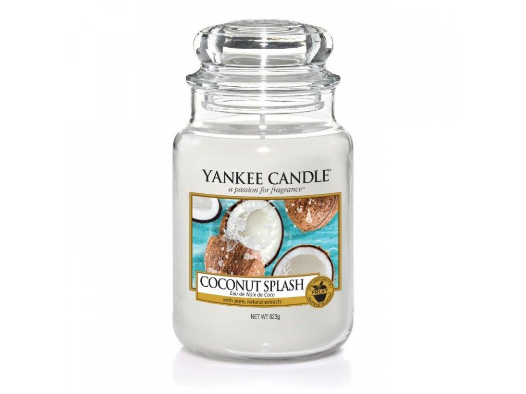 Vonná sviečka Yankee Candle - Coconut splash