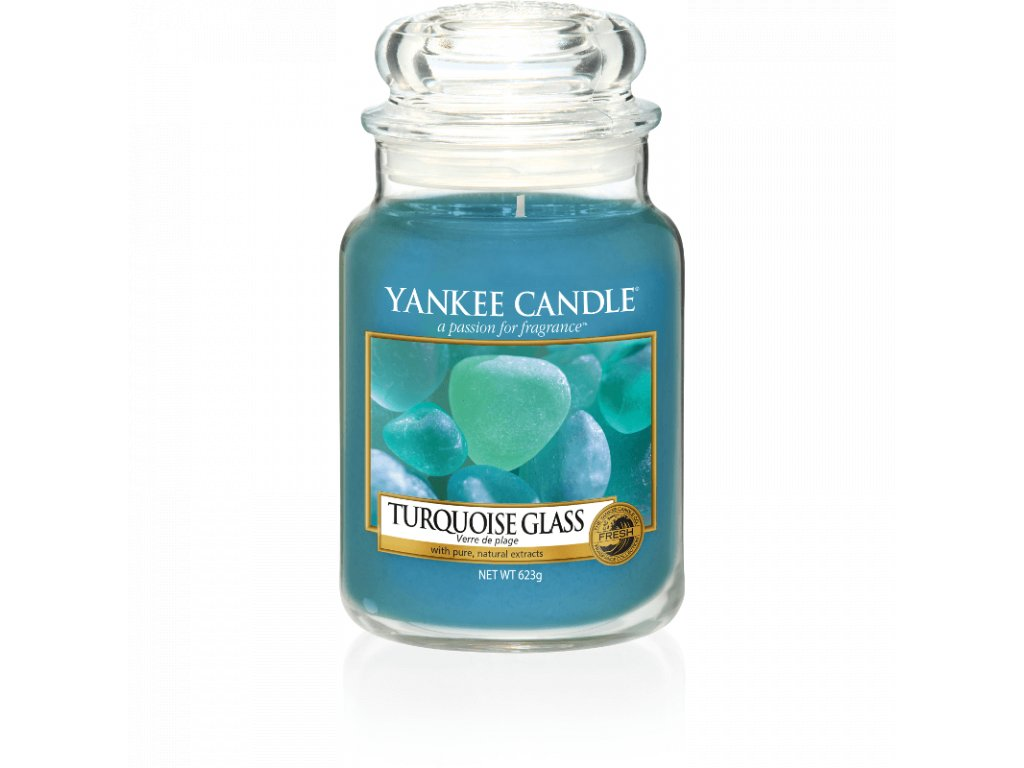 Vonná sviečka Yankee Candle - Turquoise glass