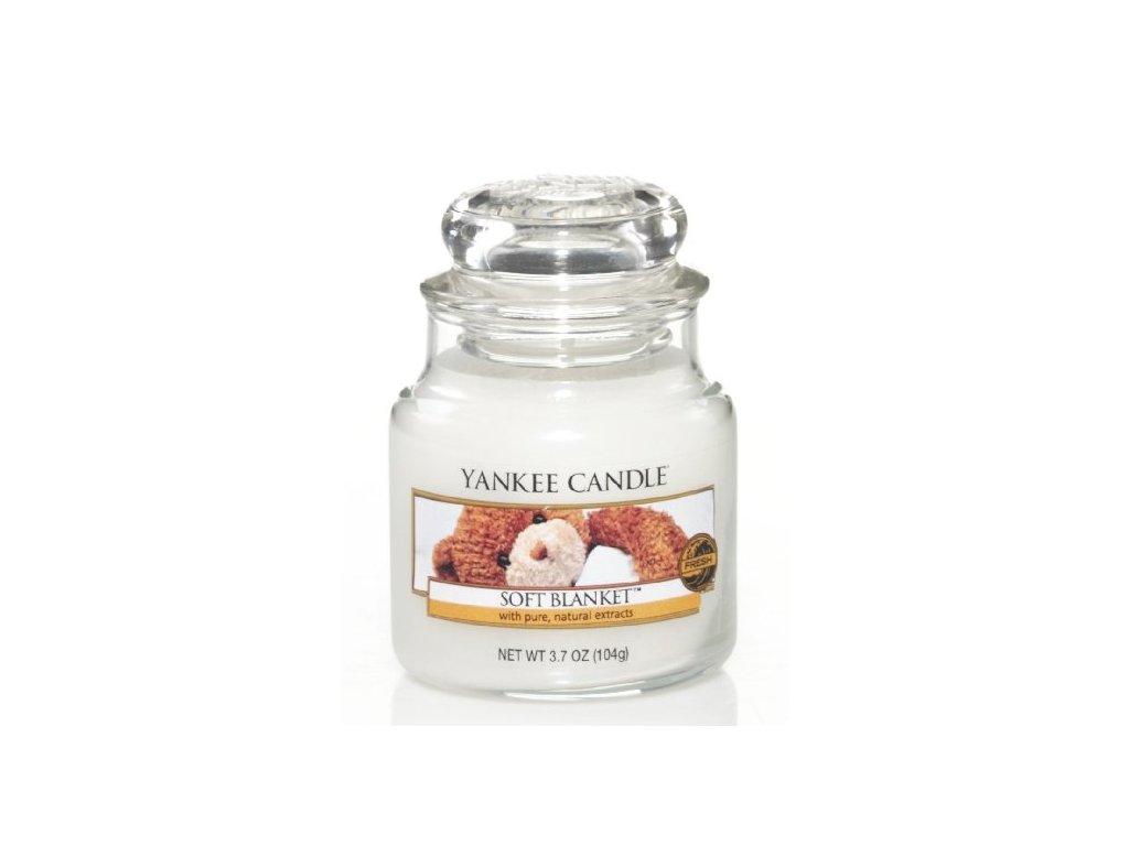 Vonná sviečka Yankee Candle - Soft blanket