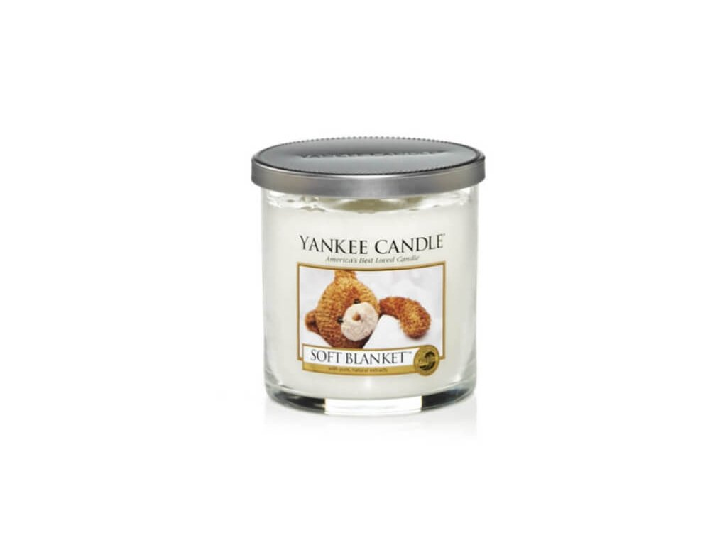 Vonná pillar sviečka Yankee Candle - Soft Blanket