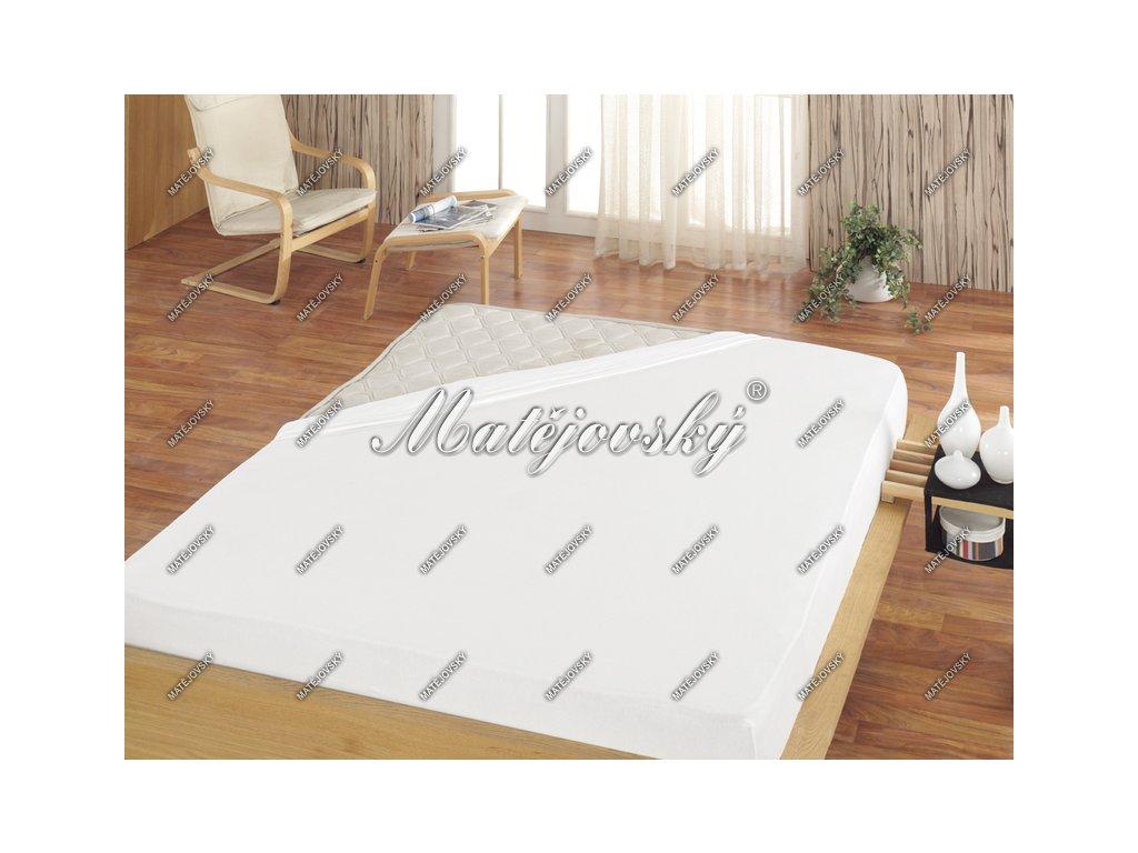 Biela plachta na posteľ bez gumičky - rôzne veľkosti