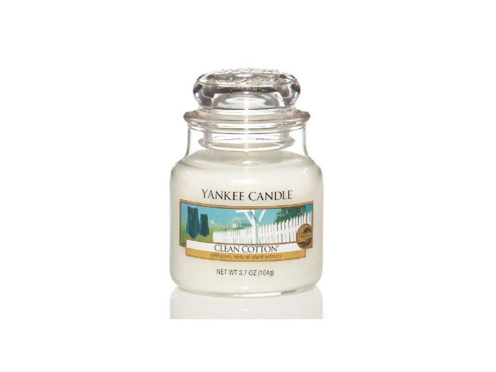 Vonná sviečka Yankee Candle - Clean cotton