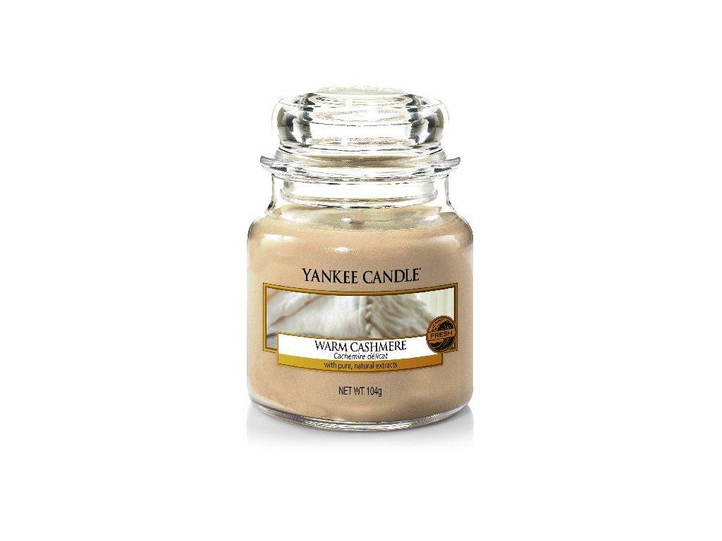 Vonná sviečka Yankee Candle - Warm cashmere