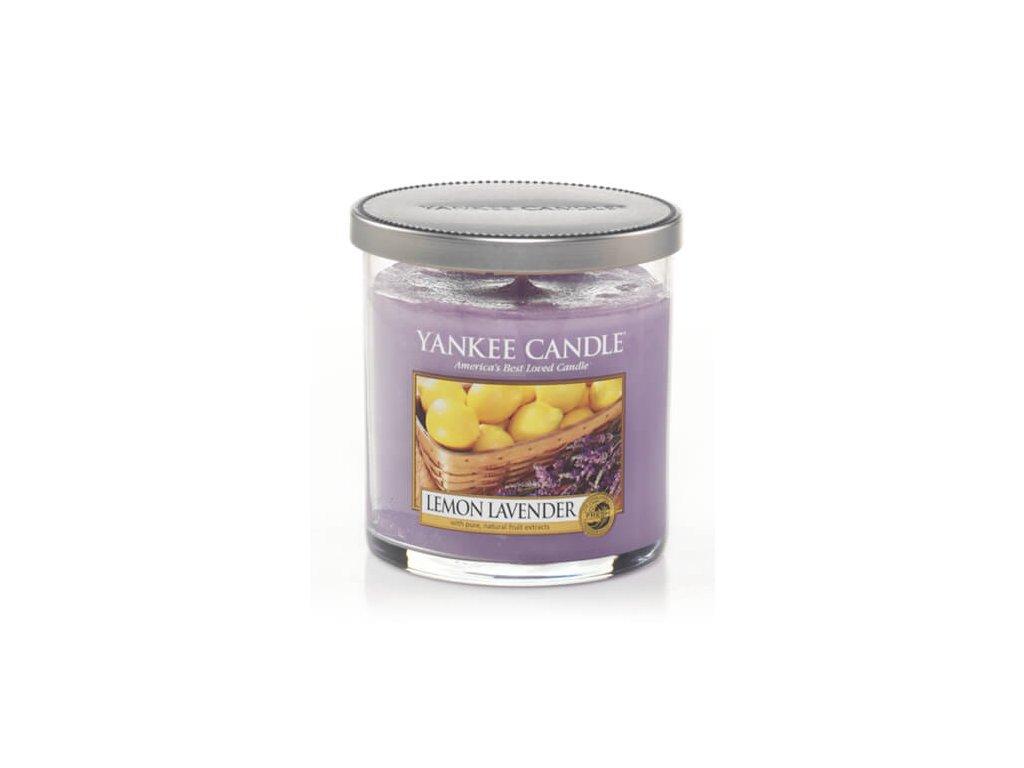 Vonná pillar sviečka Yankee Candle - Lemon Lavender